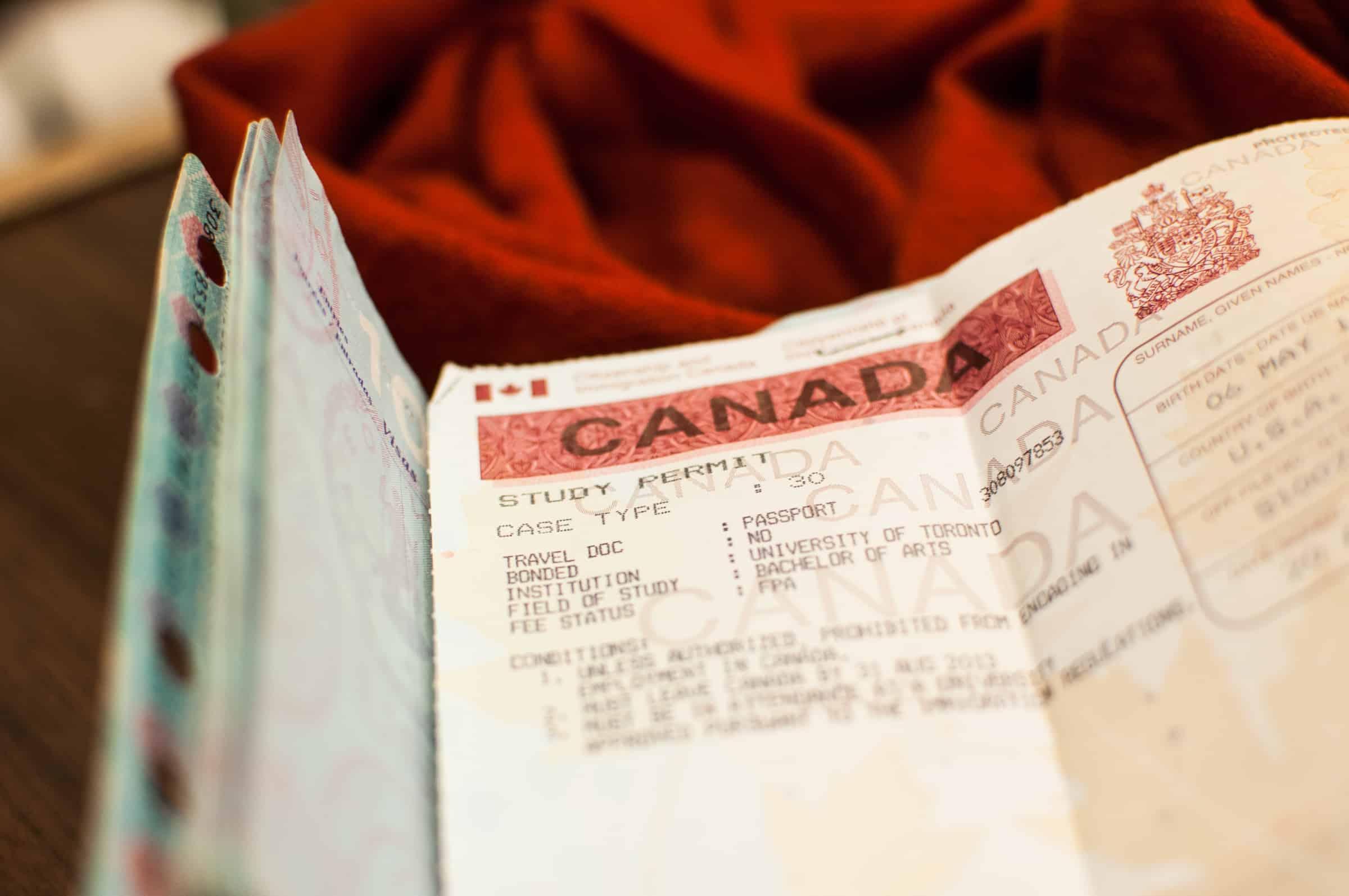 News U Of T International Students Filephoto File Photo Bernarda Gospicthe Varsity Canada Canadian Visa Study Permit Paper