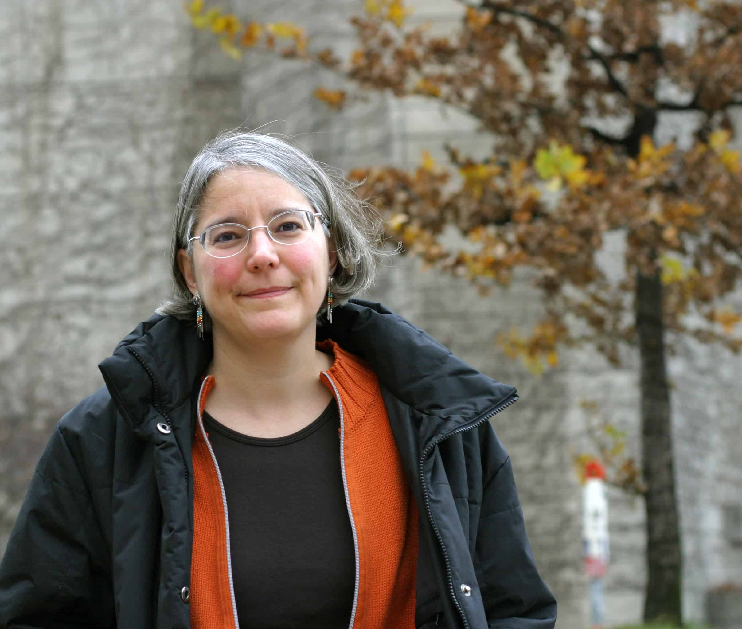 Dr. Marie-Josée Fortin studies the probability of organism movement. PHOTO COURTESY OF THE UNIVERSITY OF TORONTO