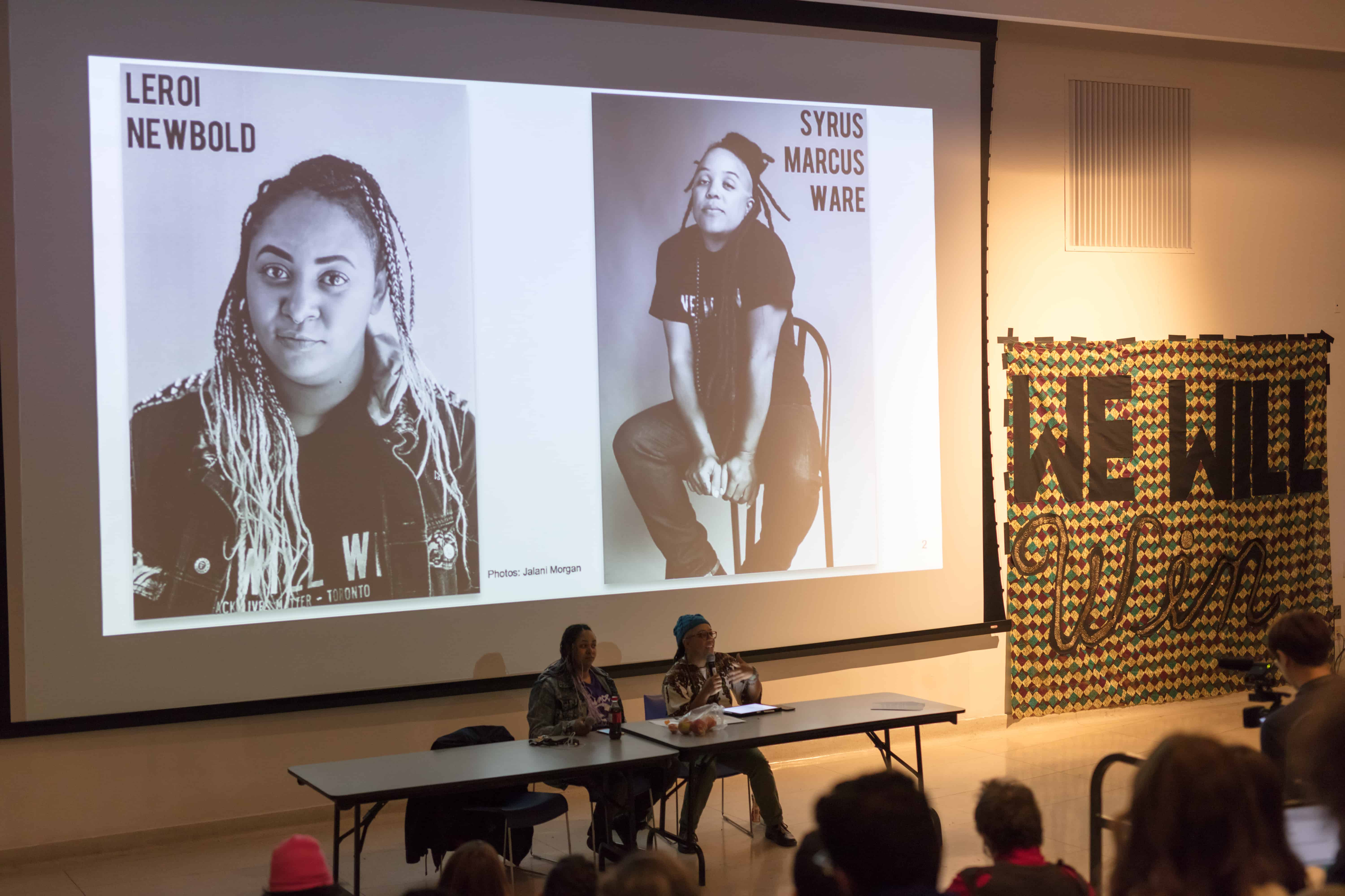 This instalment of the series featured Black Lives Matter — Toronto. NATHAN CHAN/THE VARSITY