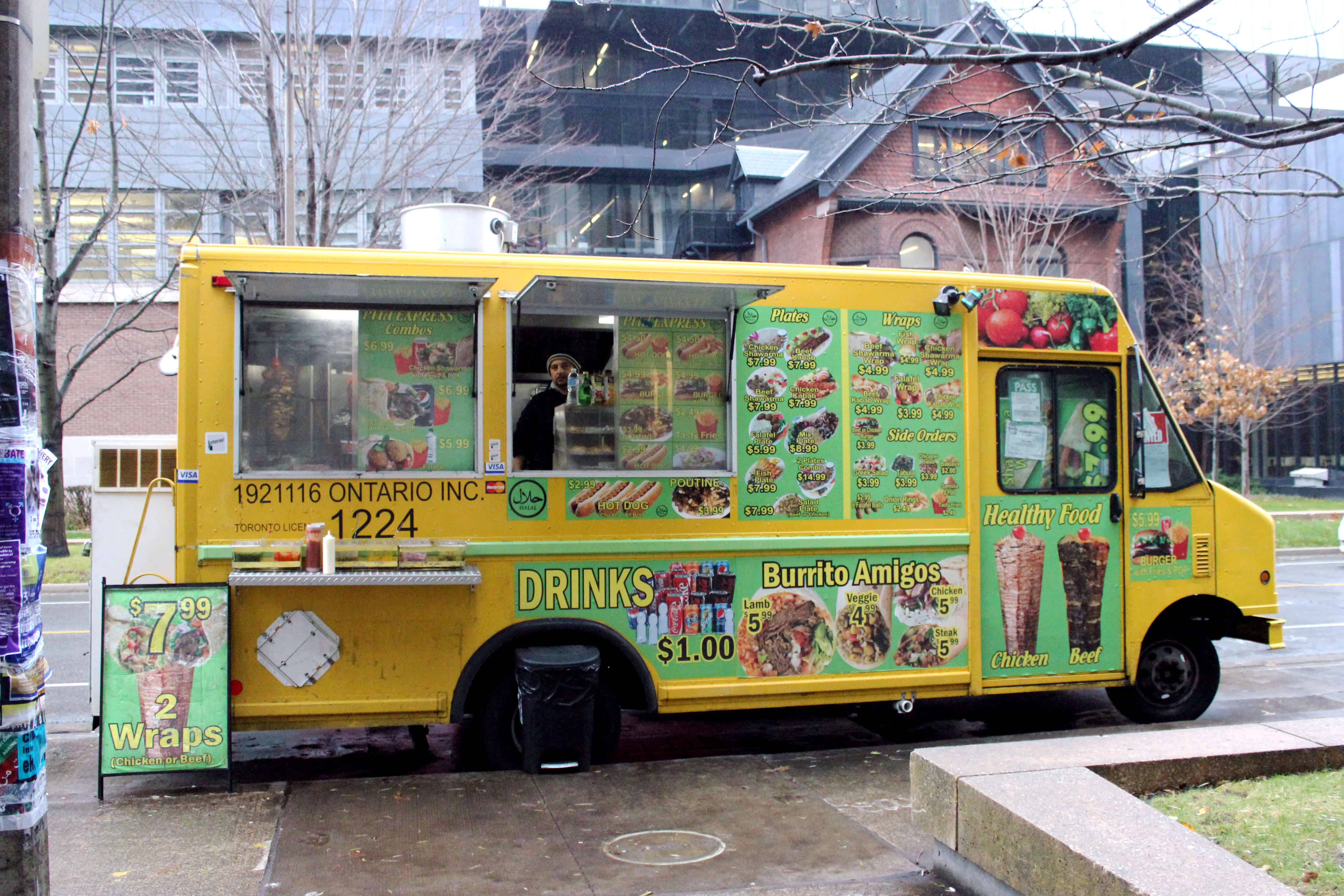 University Of Toronto Food Trucks