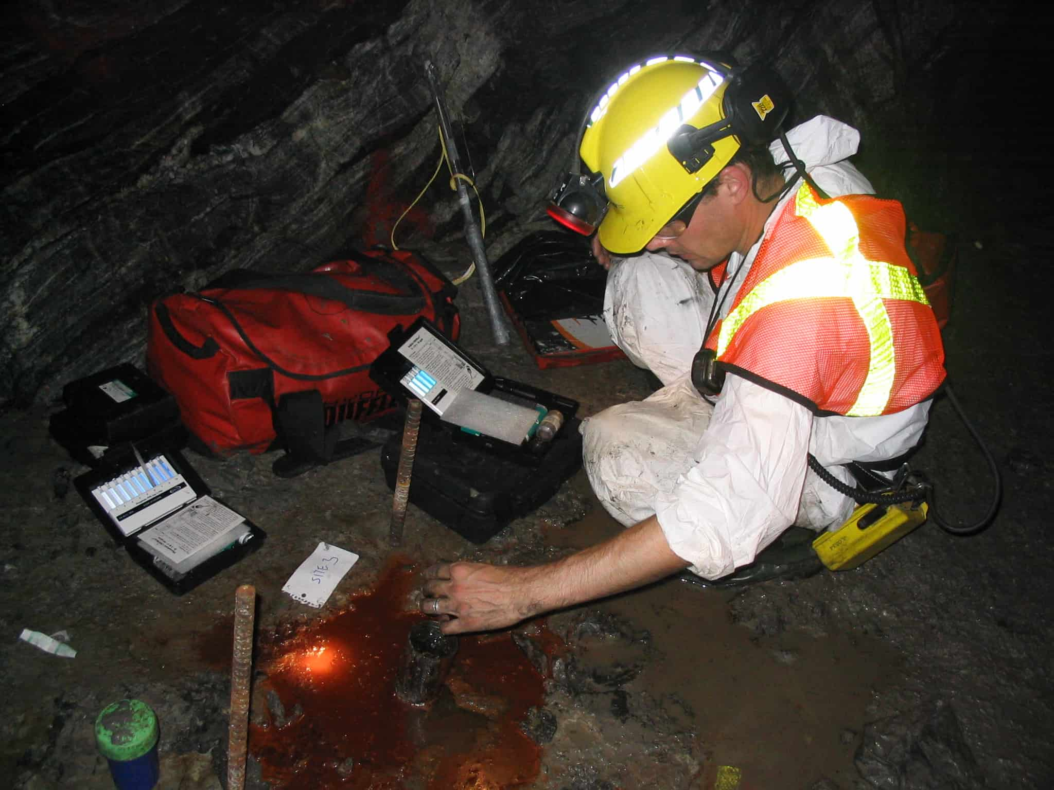 'Underground' science is edgy and hip. PHOTO COURTESY OF THE SHERWOOD LOLLAR RESEARCH GROUP
