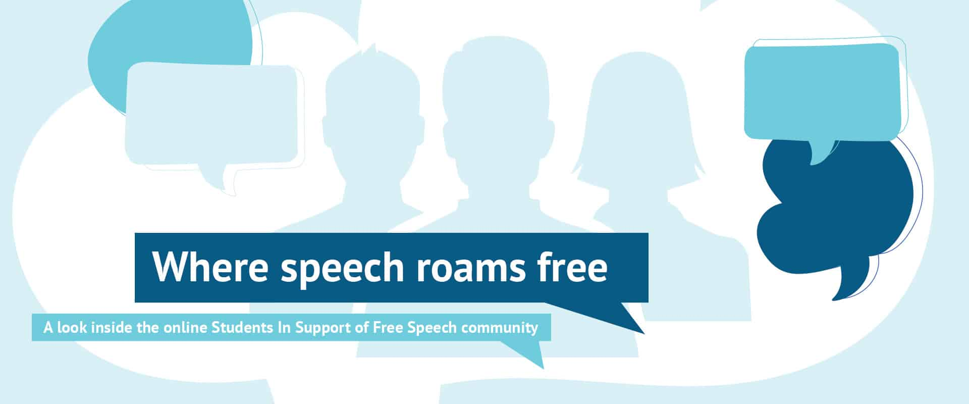 Where speech roams free