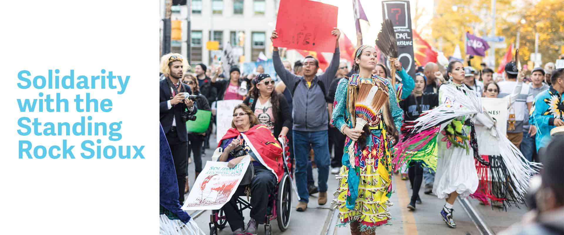 Solidarity with the Standing Rock Sioux