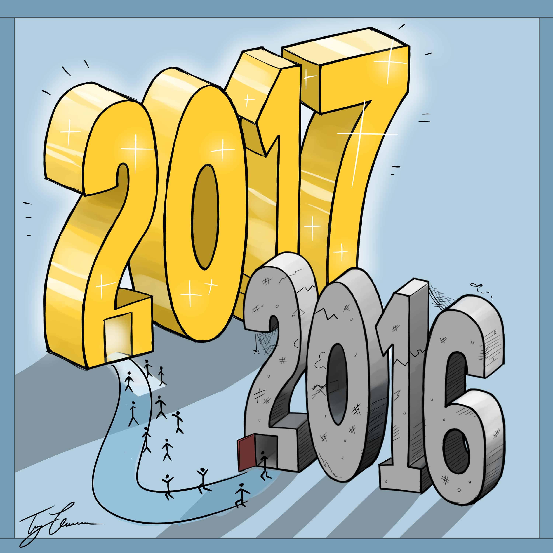 Good riddance, 2016
