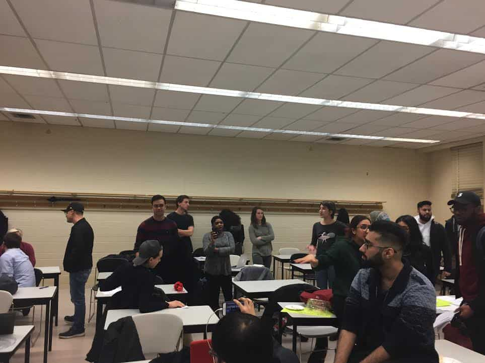 Protest erupts at UTSU Board of Directors meeting