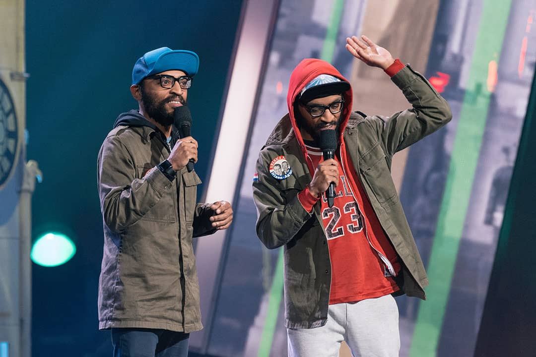 The Lucas Brothers were in town for the Just For Laughs comedy festival. PHOTO COURTESY OF JUST FOR LAUGHS