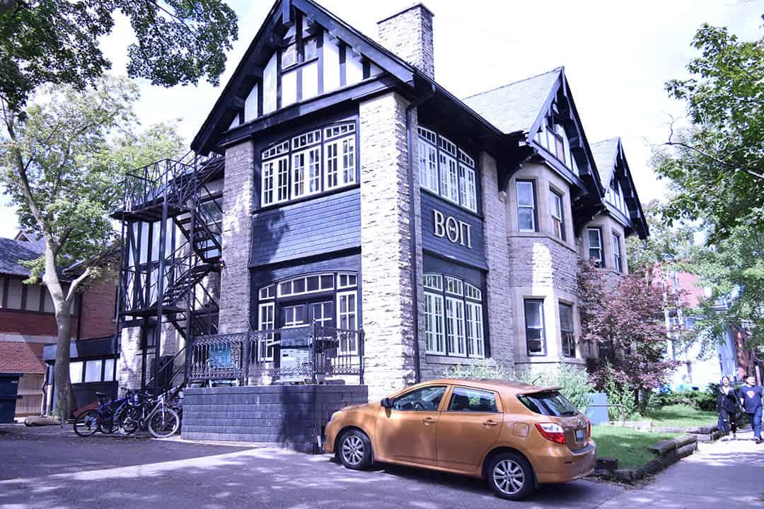 Beta Theta Pi House on Lowther Avenue. SILA NAZ ELGIN/THE VARSITY