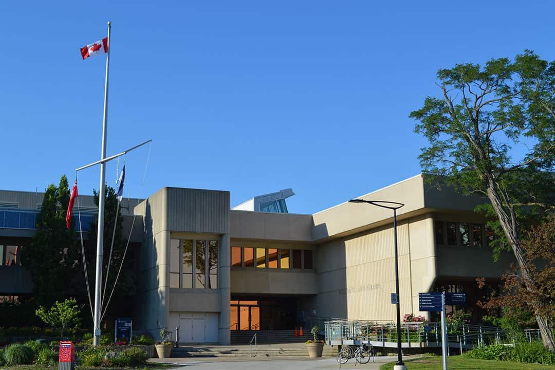 The Davis building is a central aspect of the UTM campus. ELHAM NUMAN/THE VARSITY