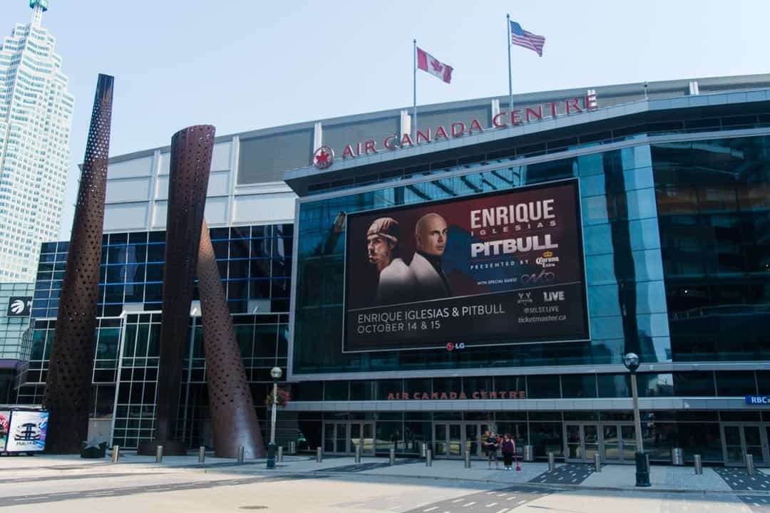 The Air Canada Centre has retained its name since it opened in 1999. STEVEN LEE/THE VARSITY