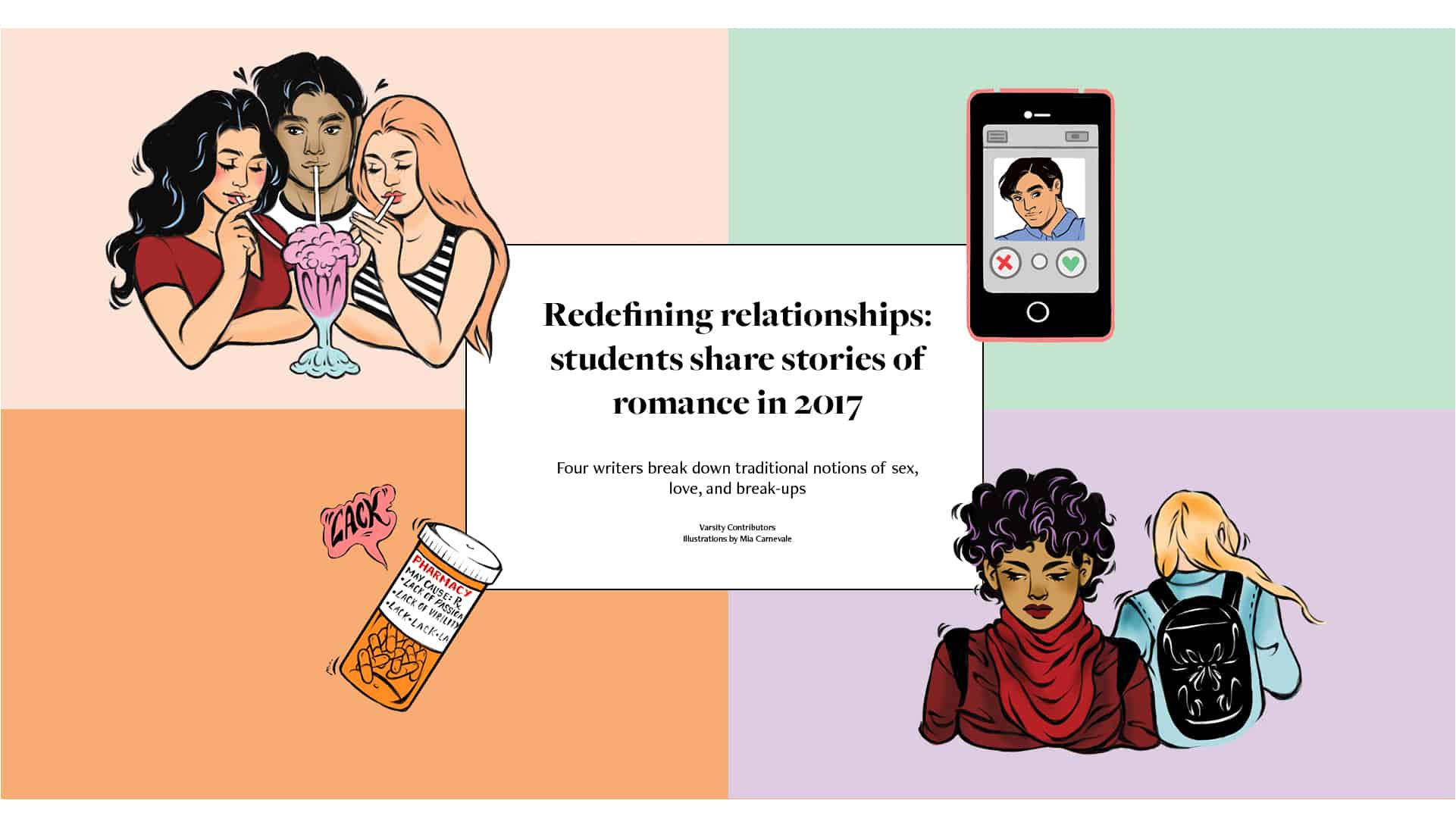 Redefining relationships: students share stories of romance in 2017