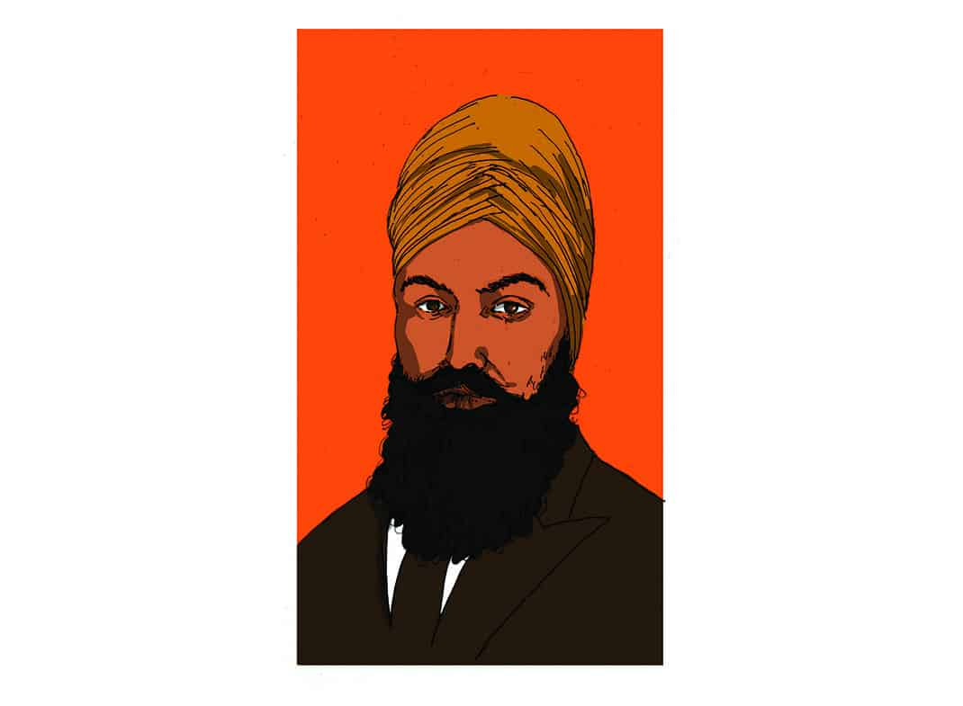 Jagmeet Singh, with love and courage
