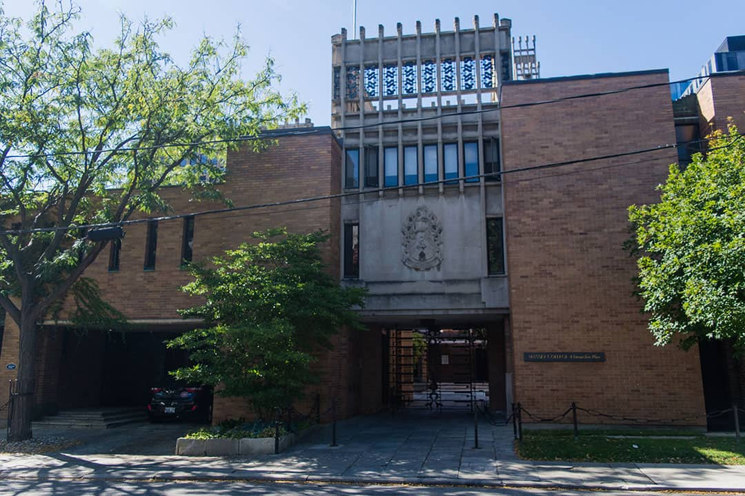 Massey College faced considerable criticism after it named Wente as a senior fellow. TEVEN LEE/THE VARSITY