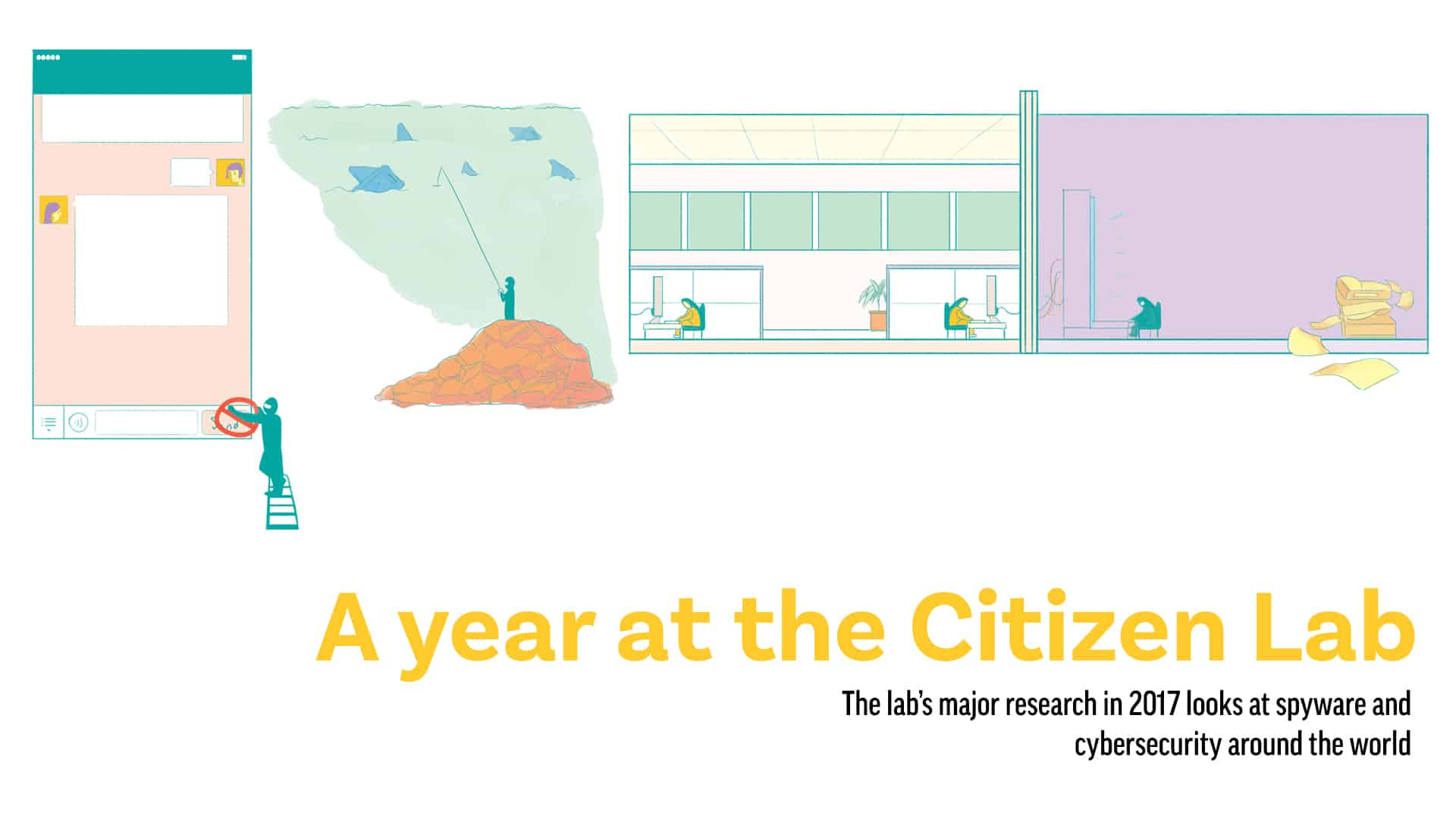A year at the Citizen Lab