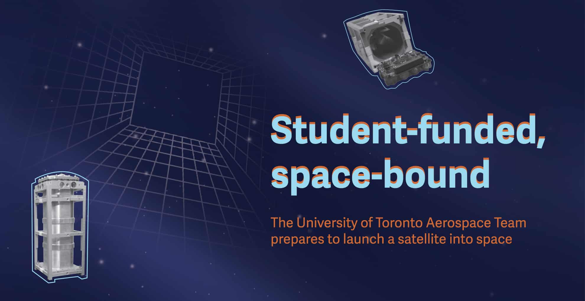 Student-funded, space-bound