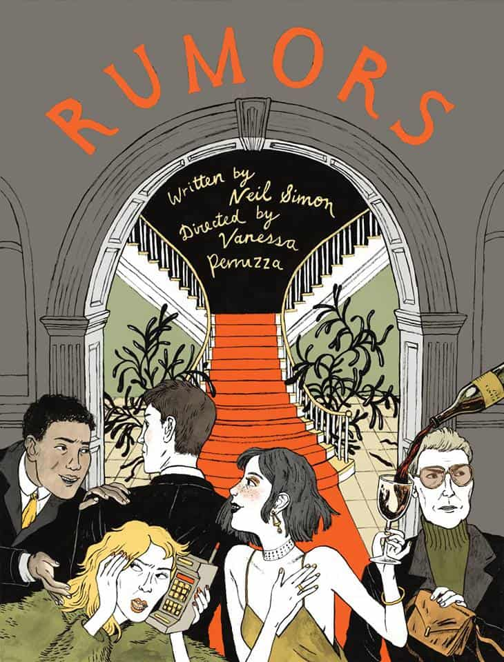 Theatre review: TCDS&#8217; <i>Rumors</i>