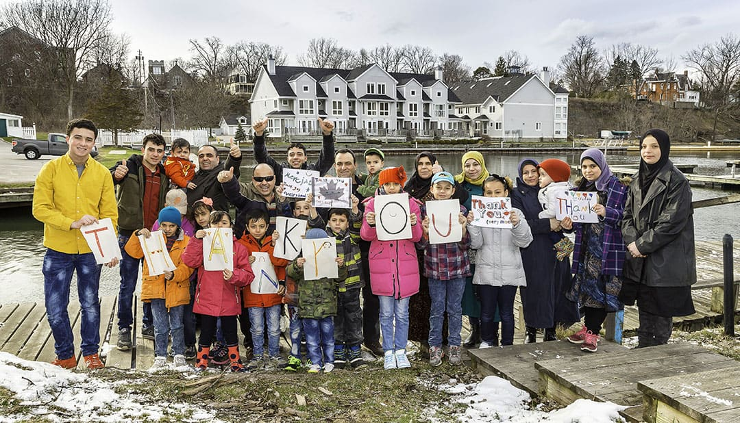 Michèle Hozer's new documentary follows a Syrian refugee family resettling in Picton, Ontario. PHOTO COURTESY OF MEGHAN PARNELL