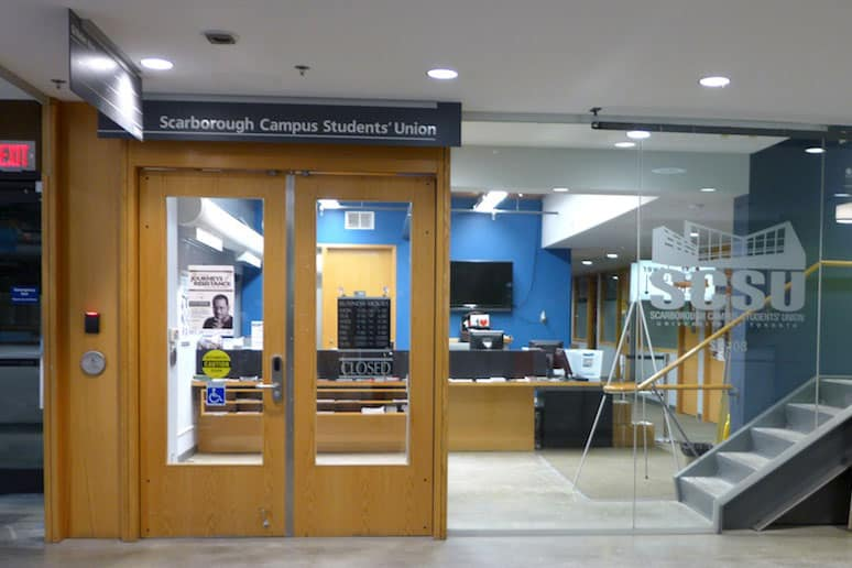 Scarborough student union Winter General Meeting cancelled due to failure to meet quorum