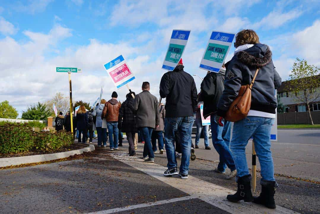College faculty strike ends with back-to-work legislation