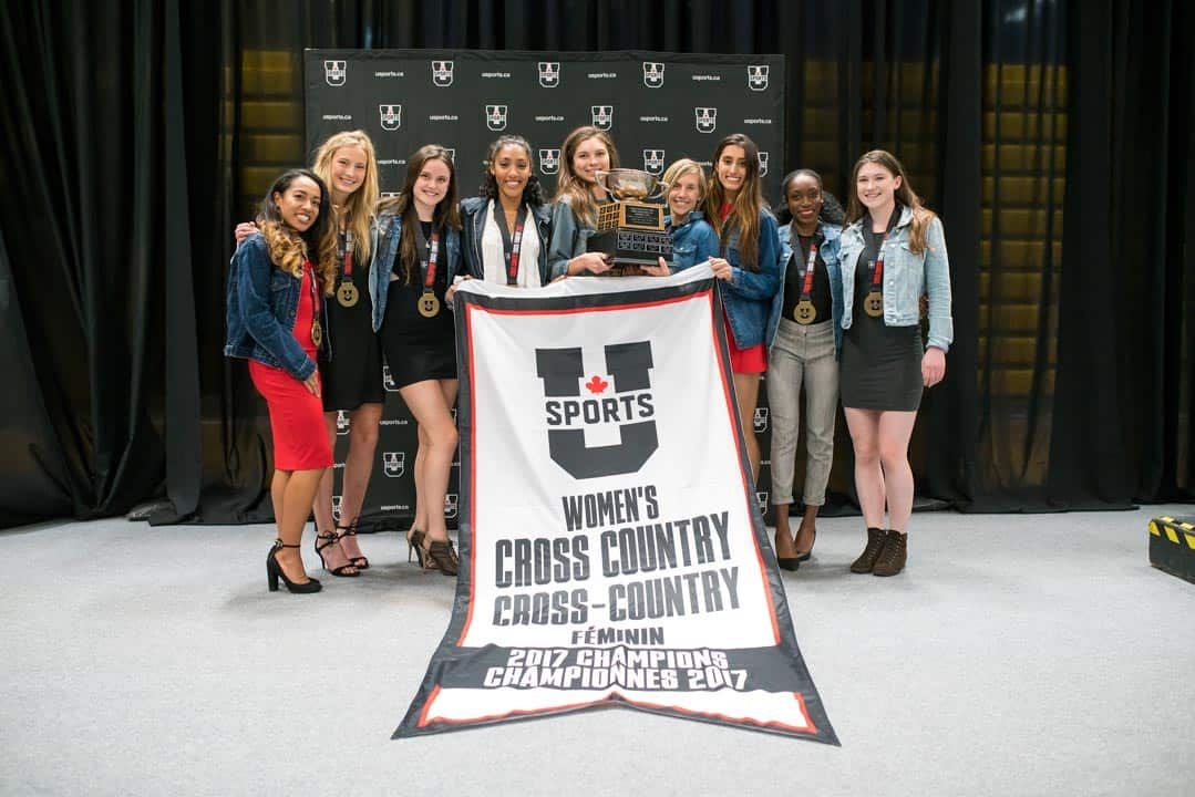 Varsity Blues women's cross country team win U SPORTS championship