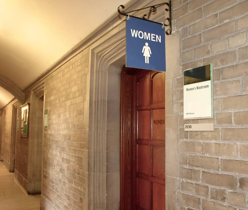 UTSU report outlines university's commitment to accessible, gender-neutral washrooms