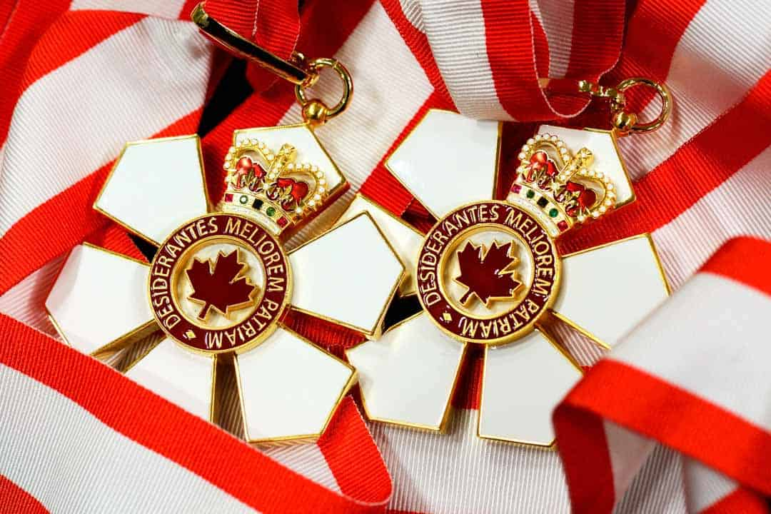 These are Order of Canada medals. One day, you too may have one. Photo by SGT RONALD DUCHESNE, COURTESY OF UNIVERSITY OF TORONTO
