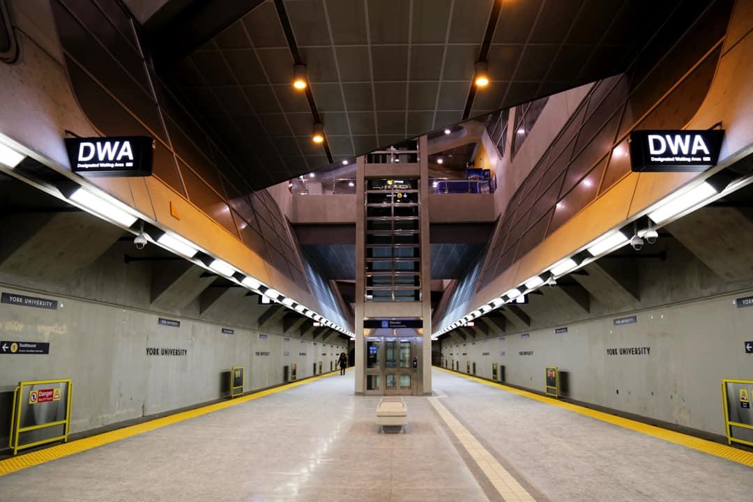 York University Station. SHANNA HUNTER/THE VARSITY
