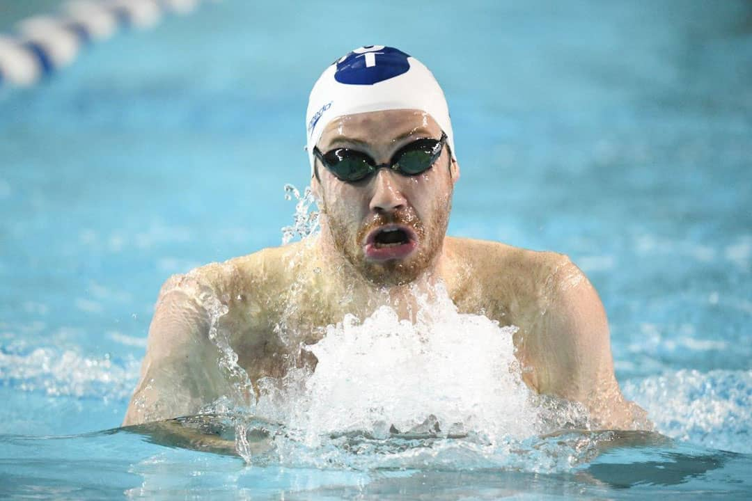 The Blues swim team looks promising ahead of the OUA Championships. PHOTO BY MARTIN BAZYL, COURTESY OF THE VARSITY BLUES