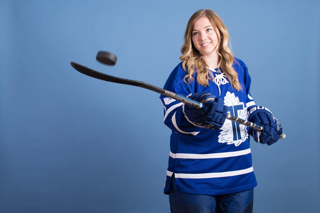 The journey of a professional women's hockey player