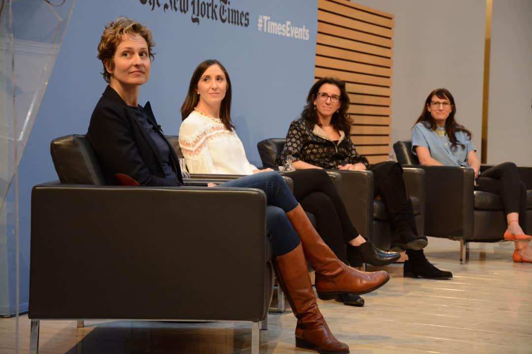 From left: Catherine Porter, Emily Steel, Jodi Kantor, and Jessica Bennett.STEVEN LEE/THE VARSITY