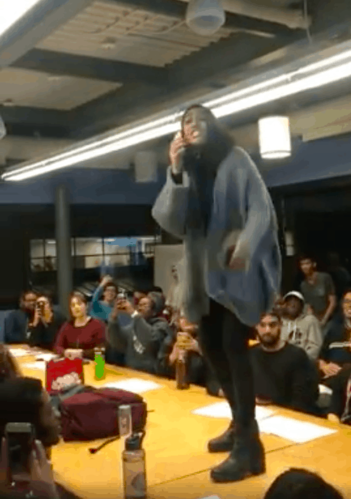 SCSU presidential candidate Deena Hassan disqualified from elections again