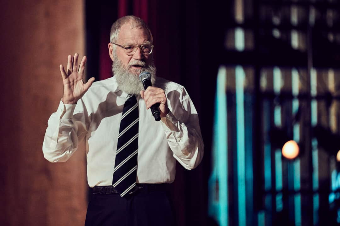 David Letterman. PHOTO COURTESY OF NETFLIX