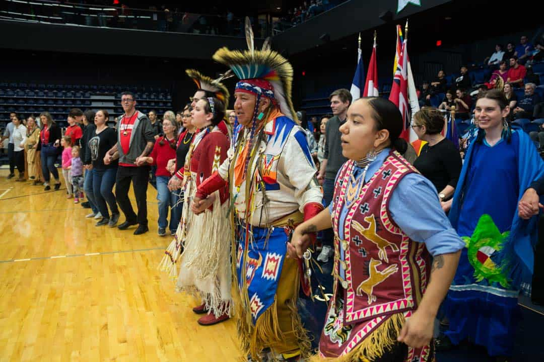 Last year's Pow wow was also held at the Goldring Centre for High Performance Sport. STEVEN LEE/THE VARSITY