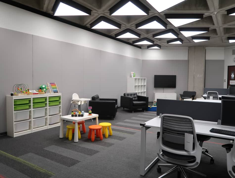 The room has a capacity of up to 20 adults and children, and availability is on a first-come, first-serve basis. PHOTO COURTESY OF UNIVERSITY OF TORONTO LIBRARIES