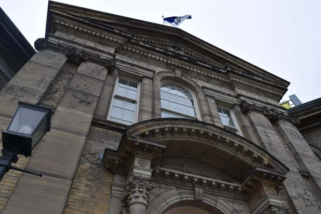 Simcoe Hall, the seat of Governing Council. SILA NAZ ELGIN/THE VARSITY