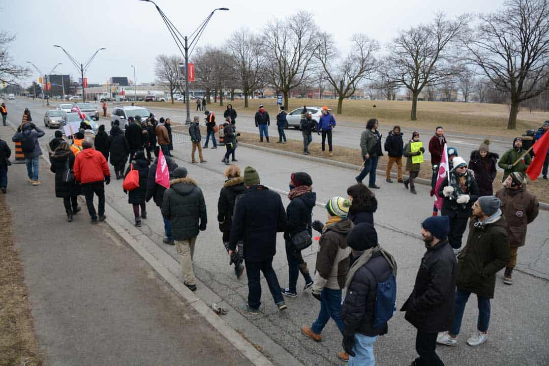 Members of CUPE 3903 Units 1, 2, and 3 have been striking since Monday, March 5. STEVEN LEE/THE VARSITY