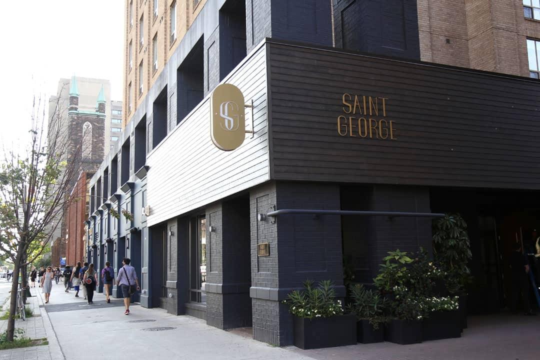 Restaurants Bloor St George