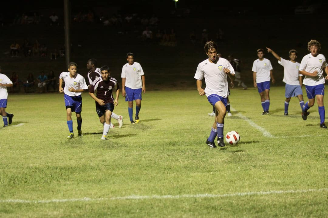 Intramural soccer provides students with an easy way to stay active. JAIR ALCON/CC FLICKR