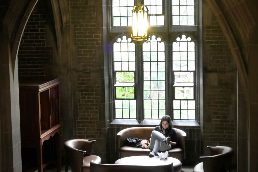 Curl up in a U of T library and procrastinate by watching a good film. SHANNA HUNTER/THE VARSITY