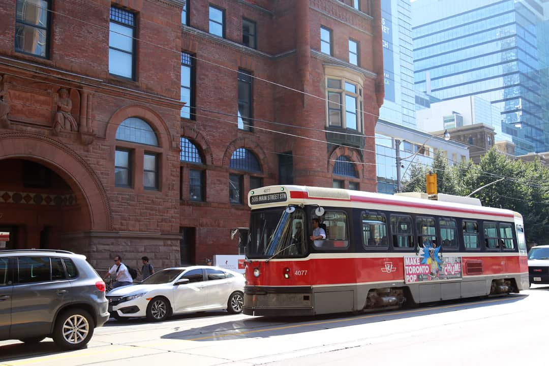 PRESTO users can now leave and enter the TTC, within a two-hour window, on a single fare. SHANNA HUNTER/THE VARSITY