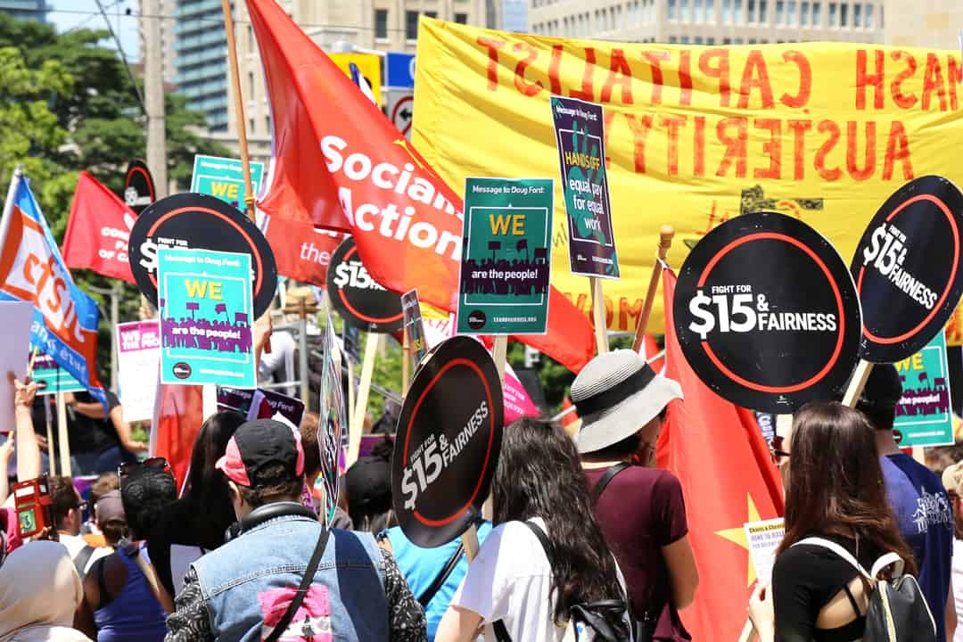 Ford's desire to repeal Bill 148 would strike a blow to last year's provincial minimum wage increase. SHANNA HUNTER/THE VARSITY