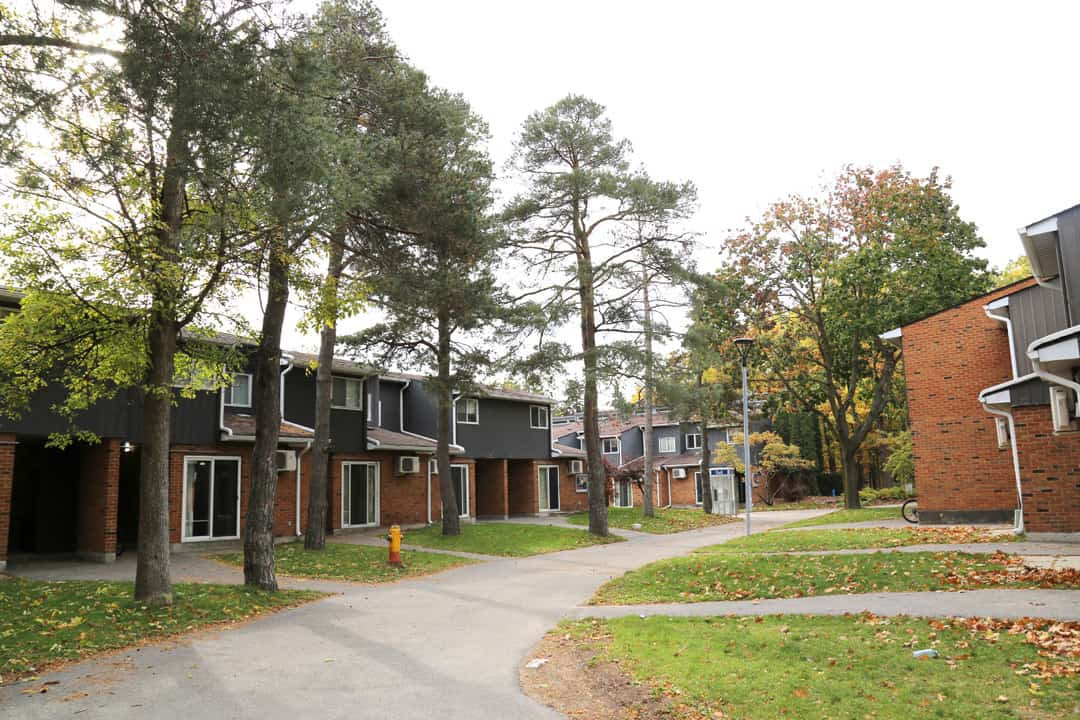 Townhouse residences at the Scarborough campus.  SHANNA HUNTER/THE VARSITY