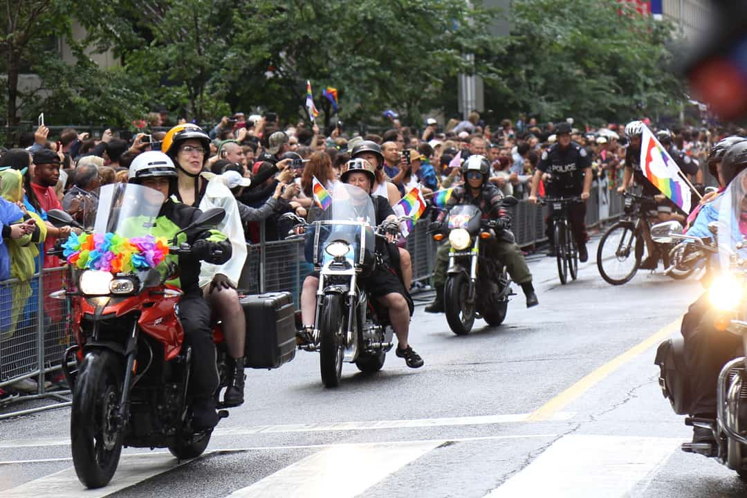 The re-entry of the Toronto Police Service for the 2019 Pride Parade has drawn criticism. SHANNA HUNTER/THE VARSITY