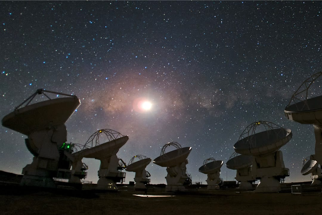 The new planetarium will be used for public outreach and academic research. ESO TAFRESHI/CC WIKIMEDIA