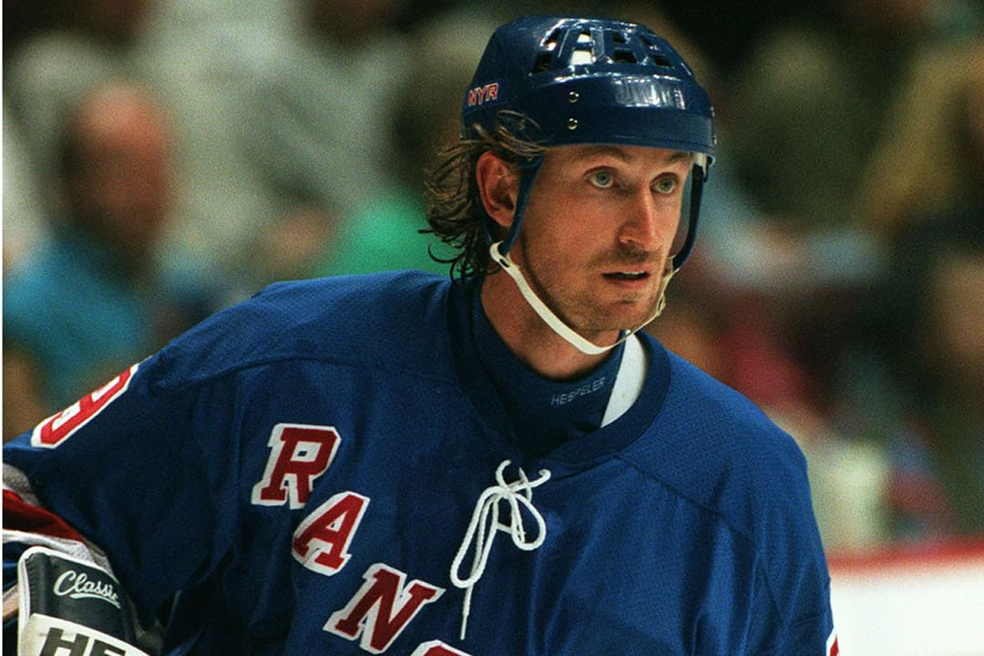 Gretzky was unable to win a Stanley Cup during his time with the Rangers. HAKAN DAHLSTRON/CC FLICKR