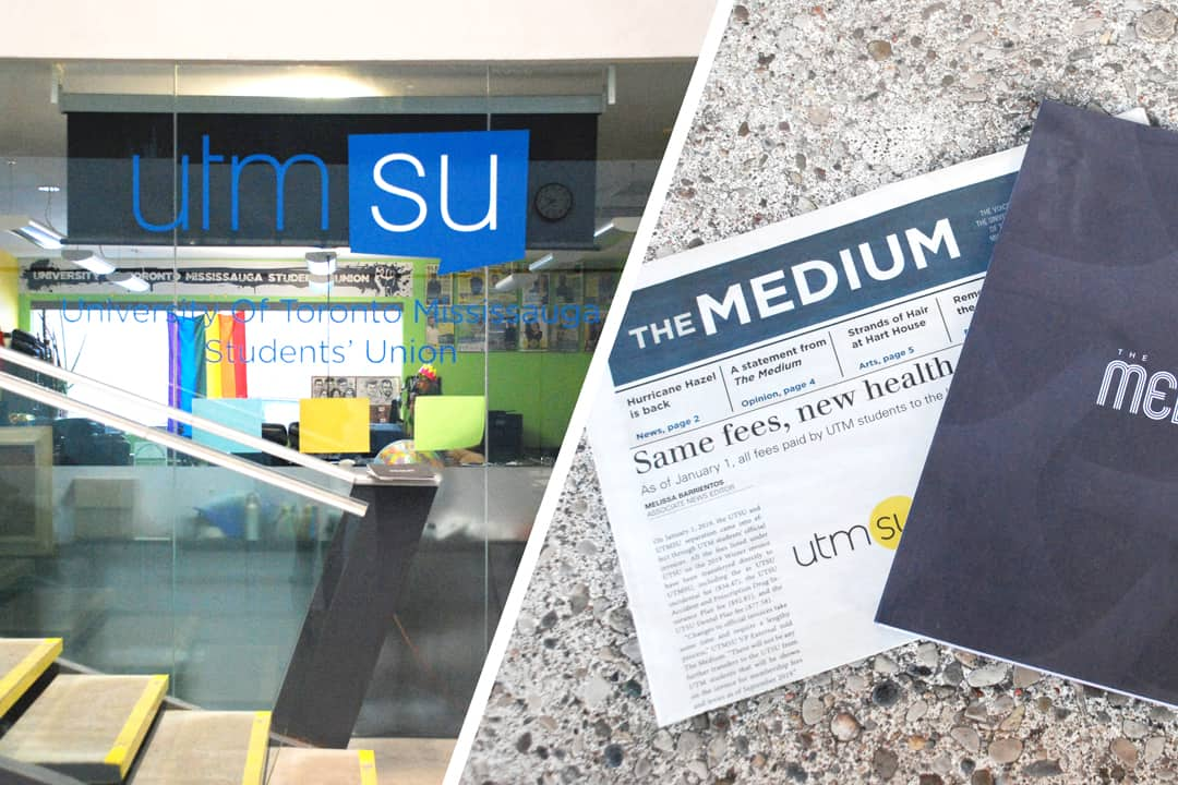 The UTMSU has clashed recently with The Medium, UTM's student paper. COCO CHEN/THE VARSITY