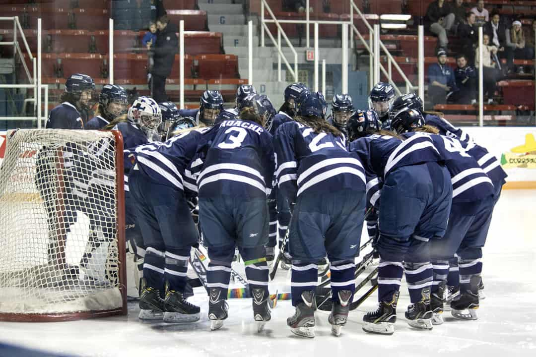 The Blues women's hockey team hopes that their newest additions will lead to success. THEO ARBEZ/THE VARSITY