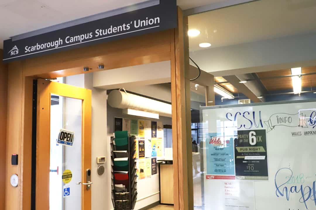 Two slates, Shine Bright UTSC and SCSYou, are running in the SCSU elections.  MICHAEL PHOON/THE VARSITY