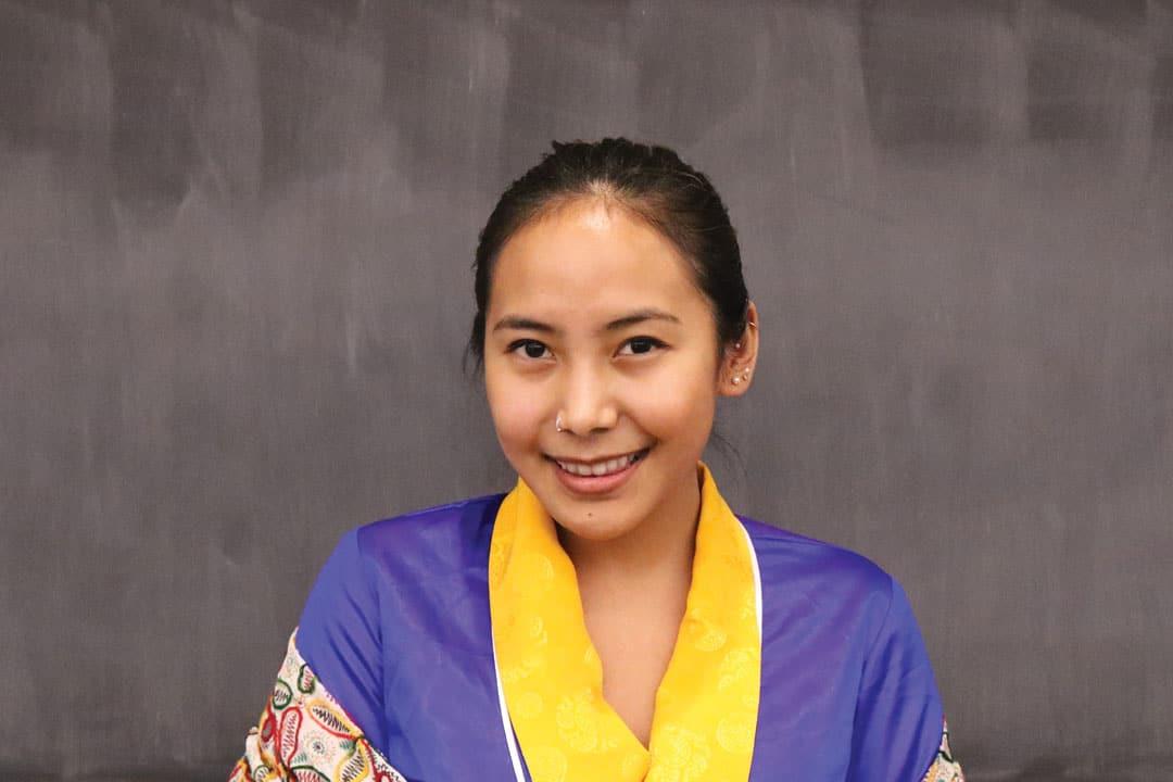 Chemi Lhamo Smiling