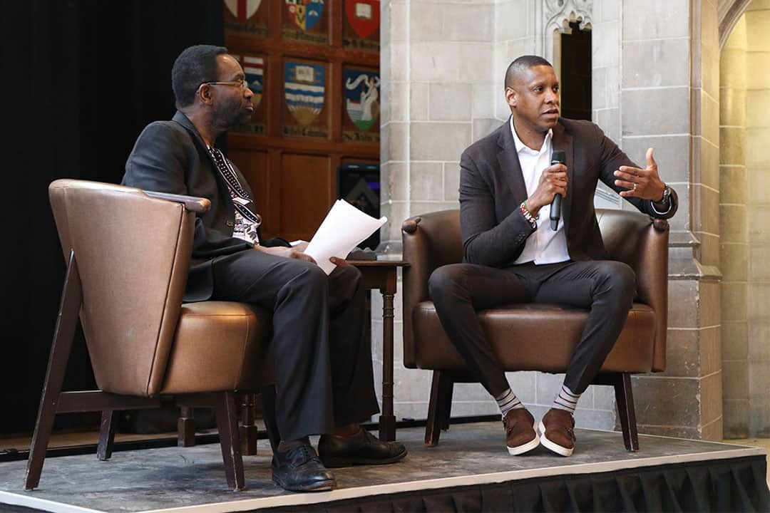 Raptors president Masai Ujiri believes sports can teach a person valuable life lessons. COURTESY OF PERRY KING