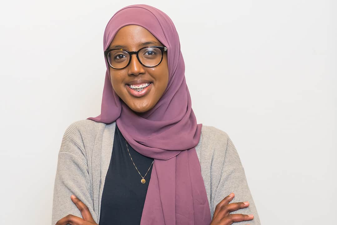 Vice-President Equity candidate Habon Ali from the Students United slate. PHOTO COURTESY OF THE STUDENTS UNITED SLATE